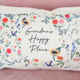 Personalised Botanical Floral Cushion For The Home
