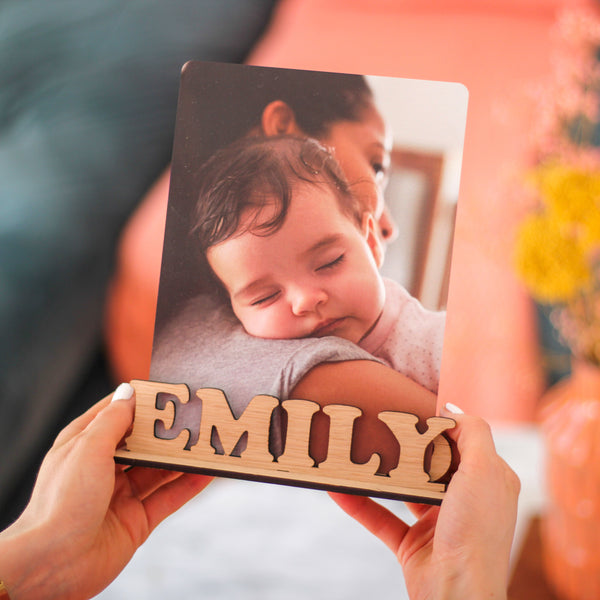 Personalised Children's Photo Frame Holder For The Home