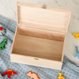 Personalised Dinosaur Kids Keepsake Memory Box