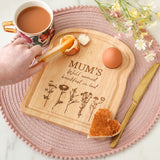 Personalised Dippy Eggs Board For Mum