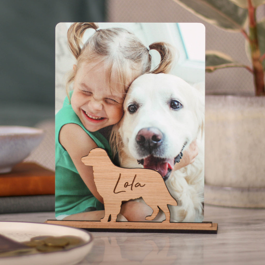 Personalised Dog Photo Frame Gift