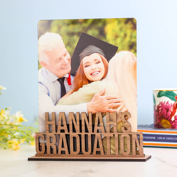 Personalised Graduation Photo Frame Gift