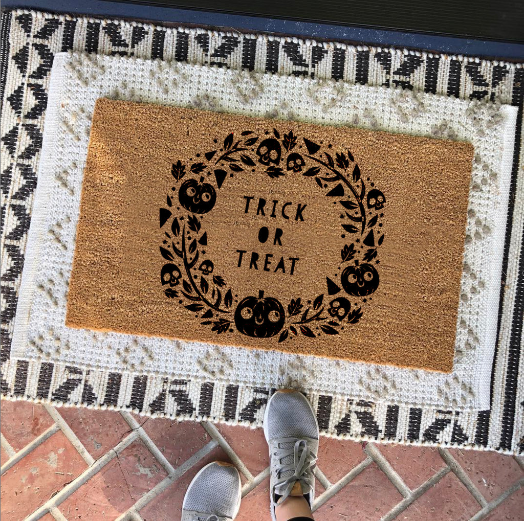 Personalised Halloween Doormat For The Home