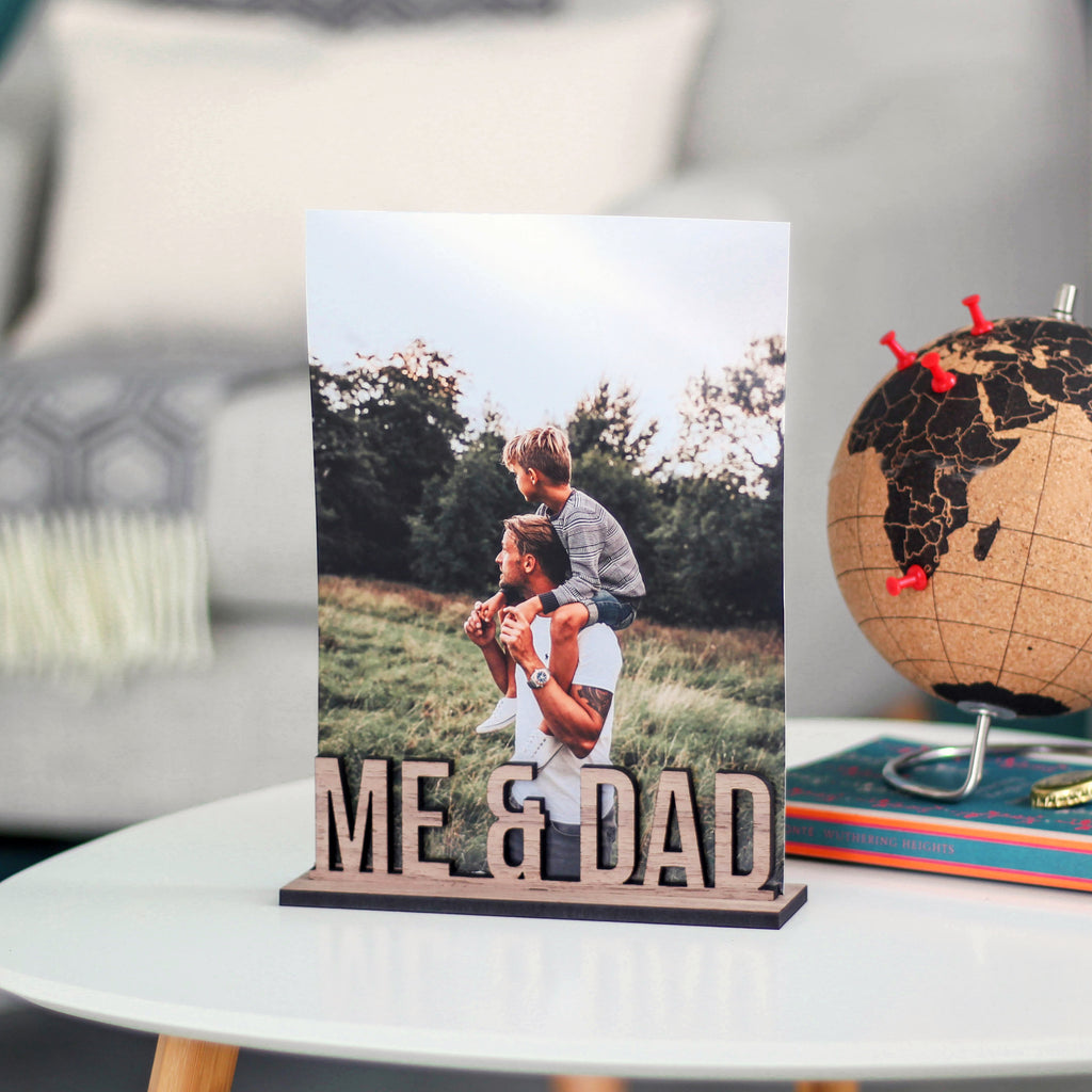 Personalised School Years Photo Holder Wooden Frame
