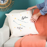 Personalised Star Sign Cushion For Her Home