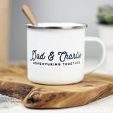 Personalised Adventure Together Mug