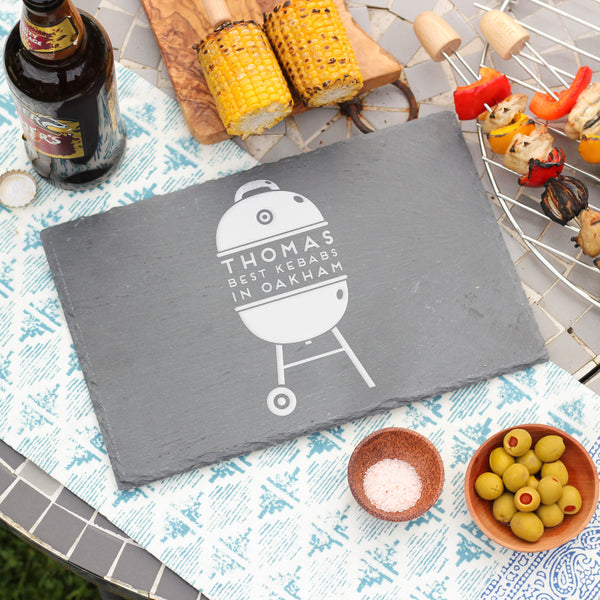 Personalised Barbecue Slate Board