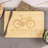 Personalised Bike Chopping Board