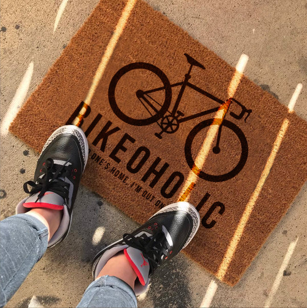Personalised Bike Door Mat