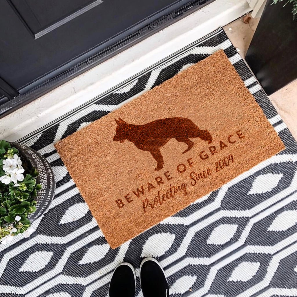 Personalised Dog Door Mat