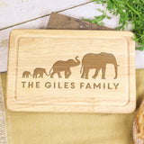 Personalised Elephant Chopping Board