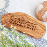 Personalised First House Warming Chopping Board
