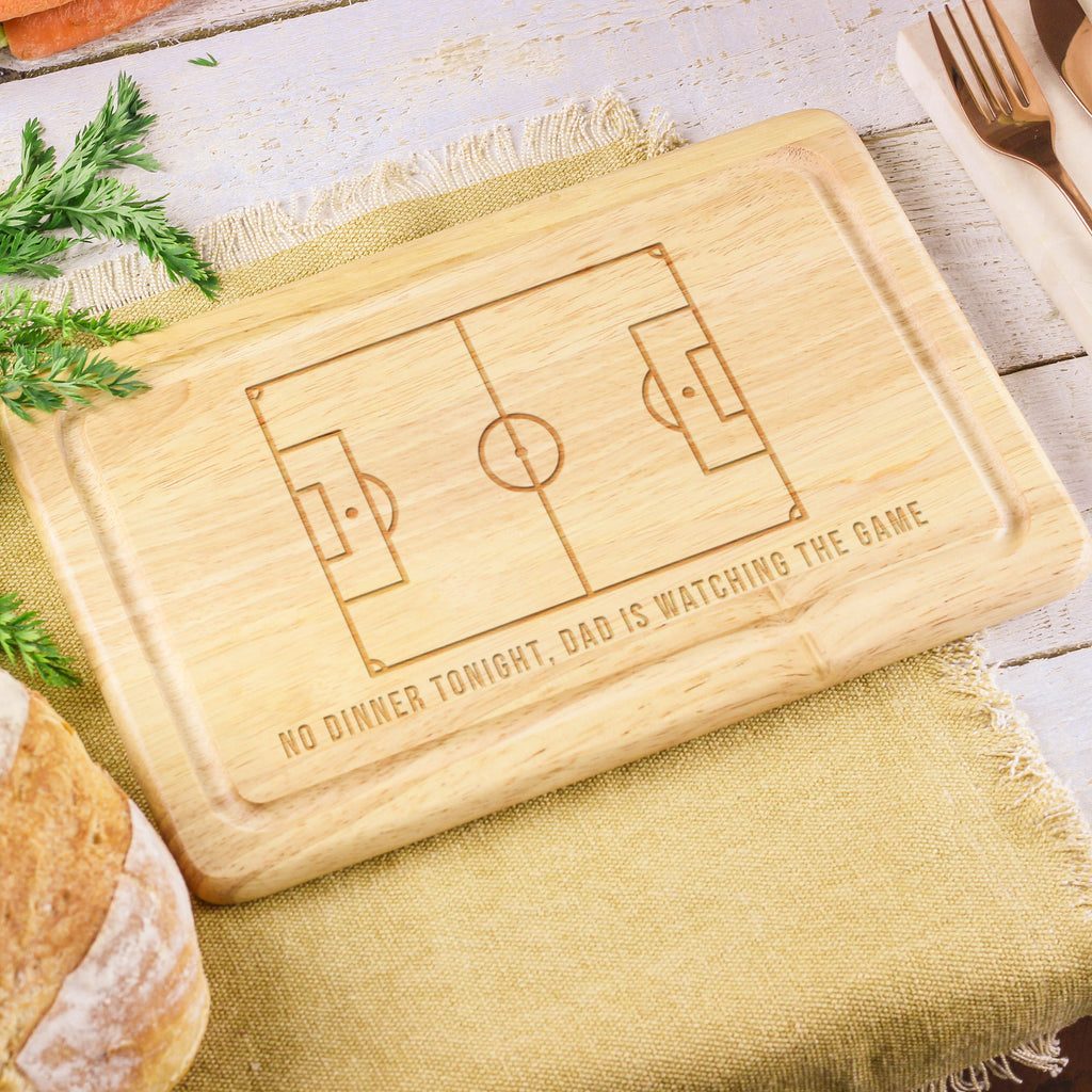 Personalised Football Pitch Chopping Board