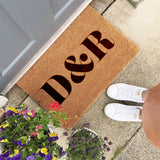 Personalised Initials Doormat