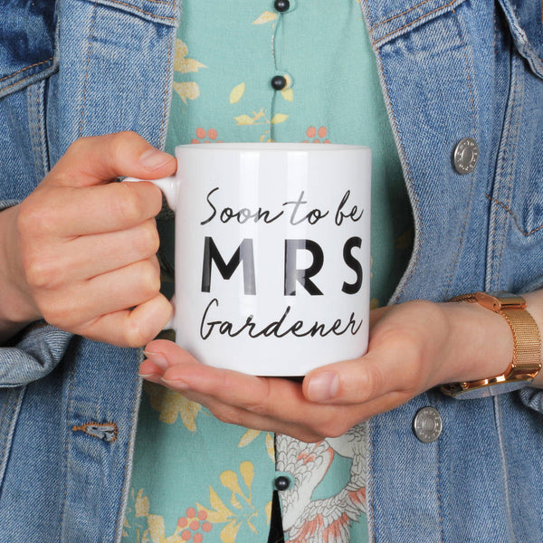Personalised Soon To Be Mrs Mug