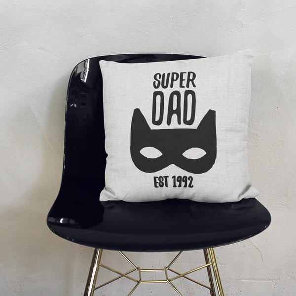 Personalised Super Dad Cushion