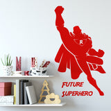 Super Hero Boys Room Wall Sticker
