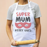 Personalised Super Mum Apron