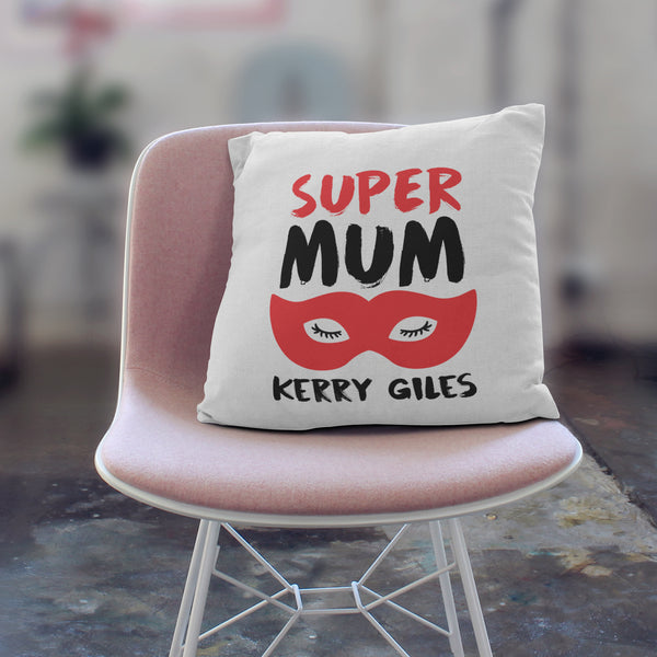 Personalised Super Mum Cushion