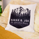 Personalised Adventure Cushion