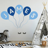 Personalised Balloon Wall Stickers