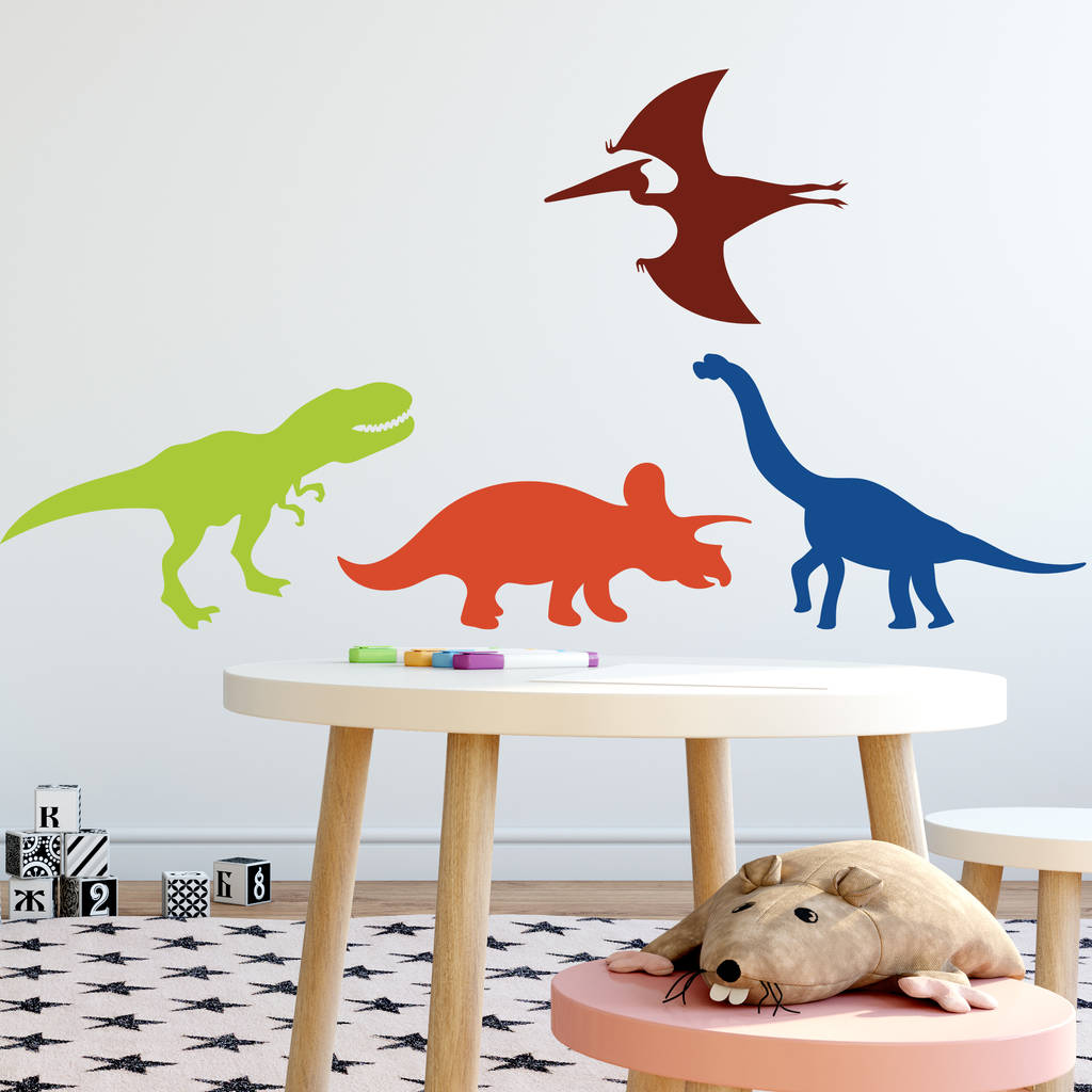 Personalised Dinosaur Wall Sticker