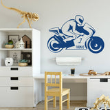 Personalised Motorbike Wall Sticker