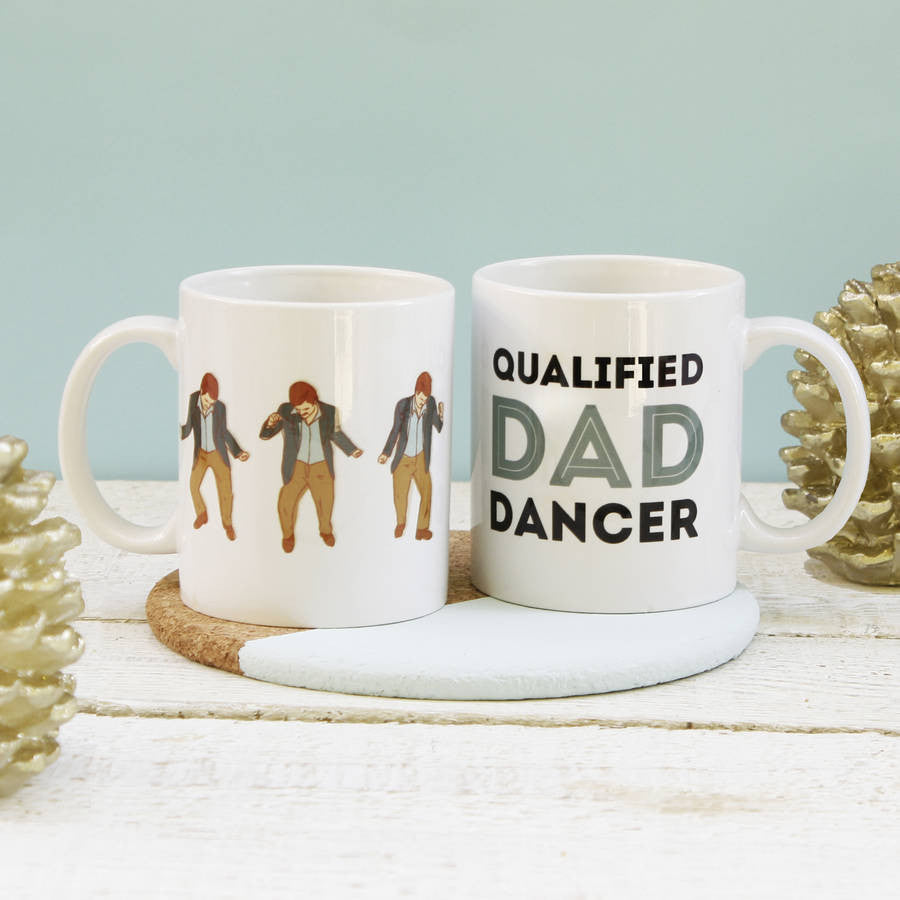 Qualified Dad Dancer Mug