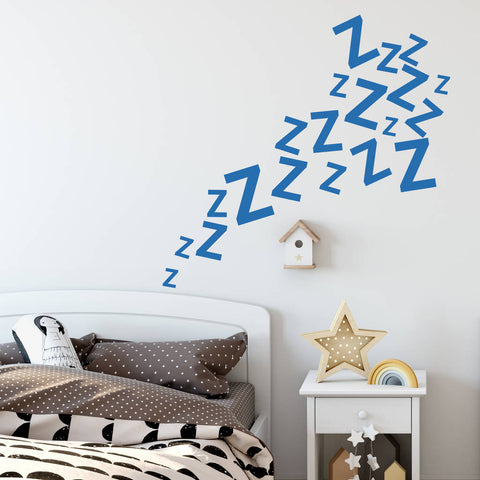 Sleeping Zzz's Wall Sticker