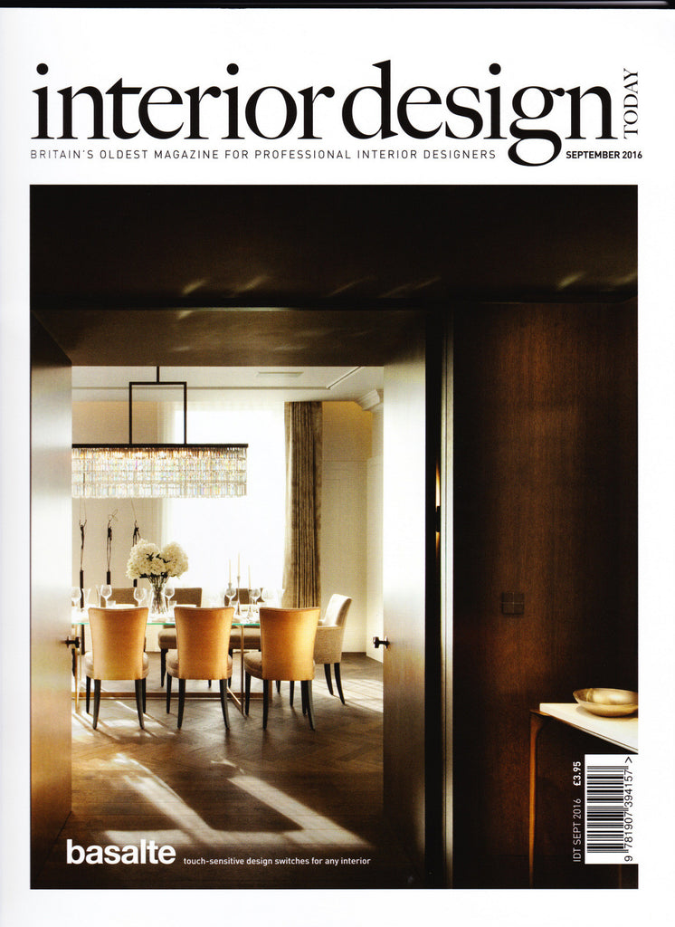 Interior Design Today, Sept '16