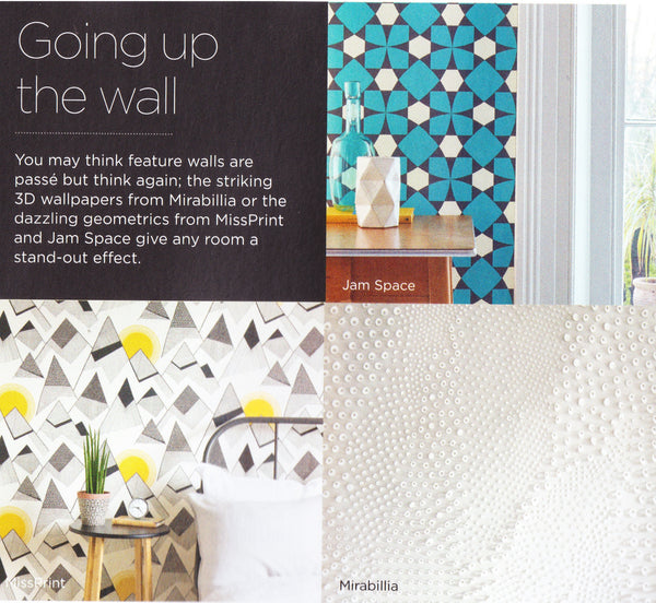 Article in NappyValleyNet about feature walls and wallpaper