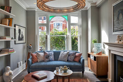 Living room Victorian home