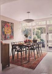 Dining room, image taken from the article about this house in Homes&Gardens, Oct 2015