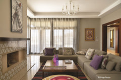 Modern Islamic - show home - Reception area