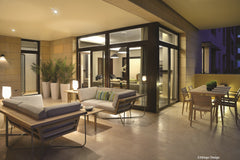 Natural Zen show home - Terrace