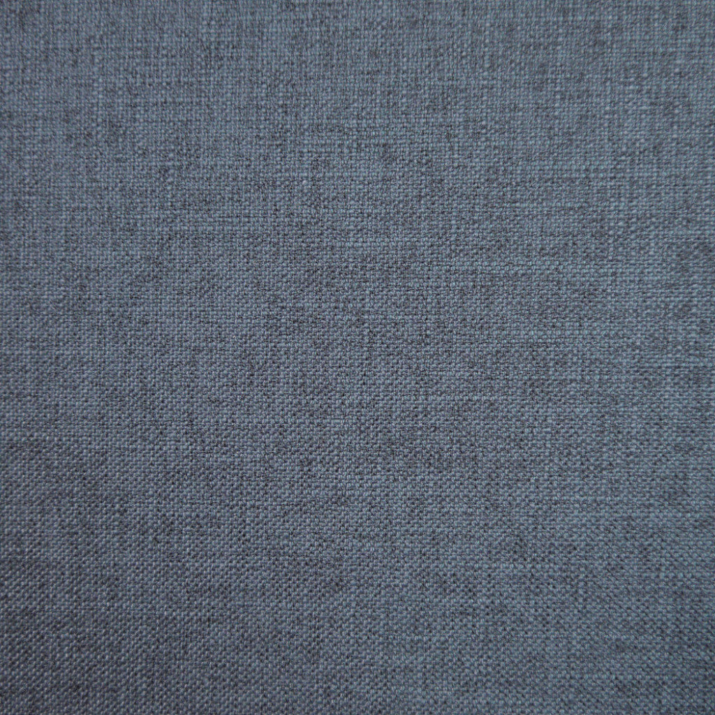 Crisp Ink - 1243 faux linen, washable upholstery fabric