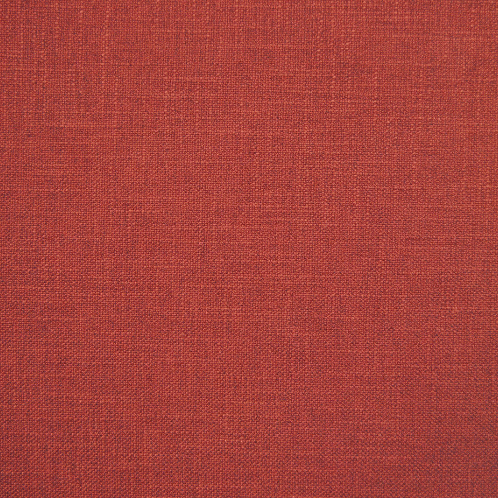 Crisp Chilli- 1249 faux linen washable upholstery fabric