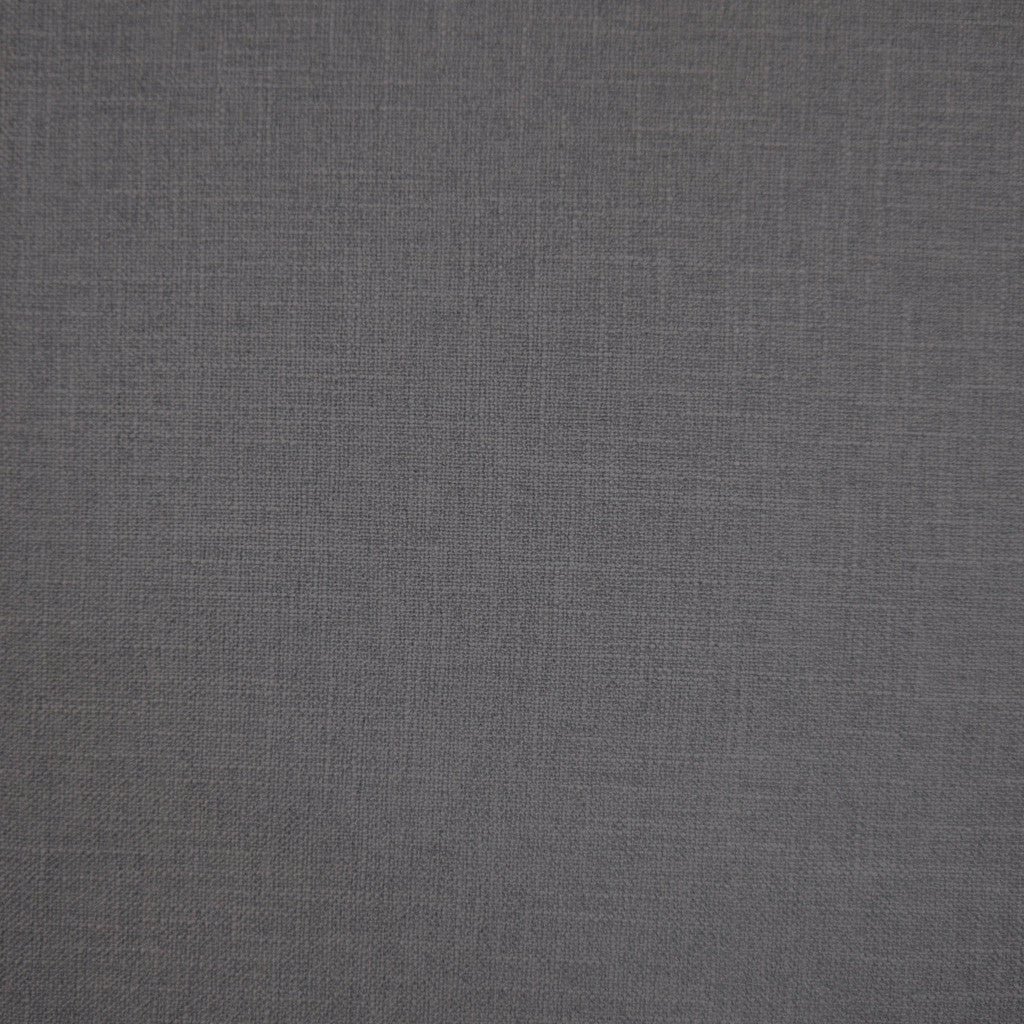 Crisp Pewter - 1253 faux linen washable upholstery fabric
