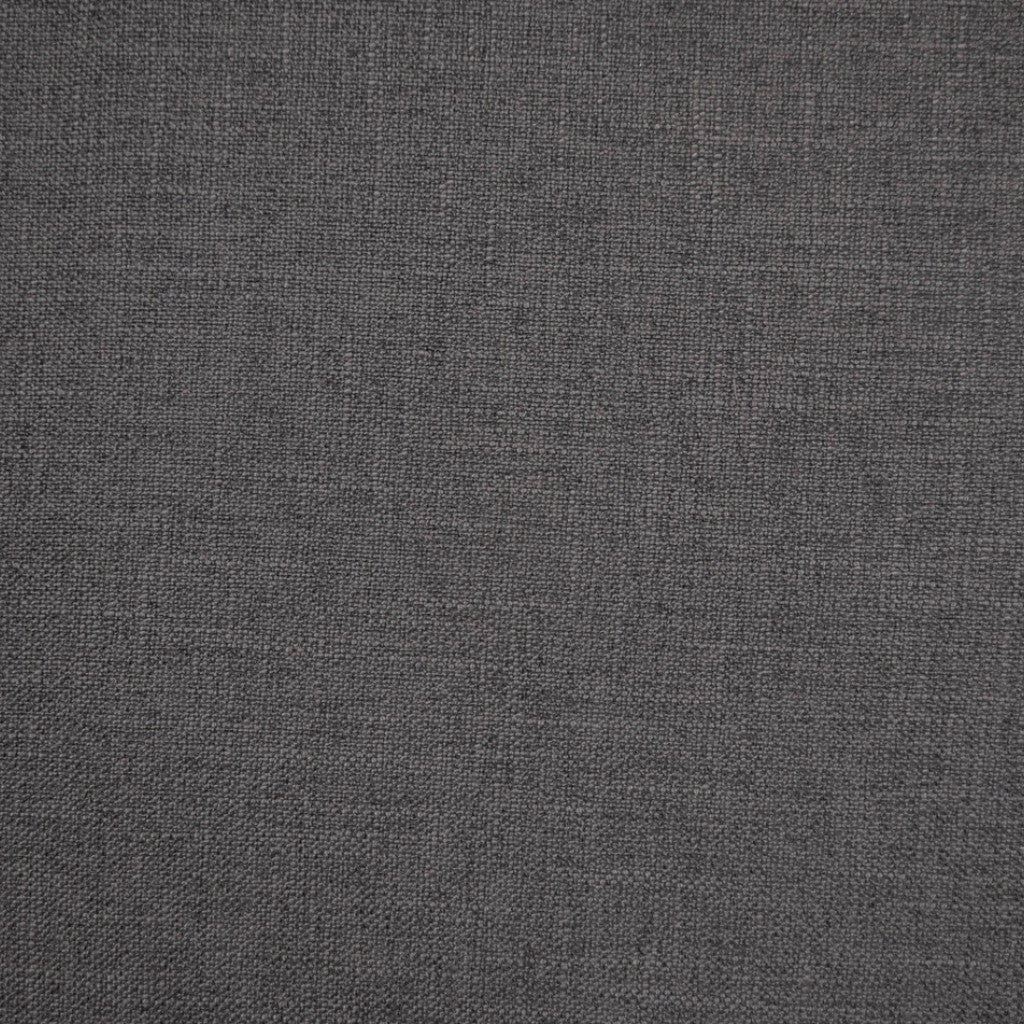 Crisp Smoke - 1254 faux linen washable upholstery fabric