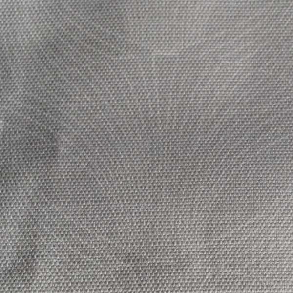 Close up of Edfu Flower Grey Mist fabric