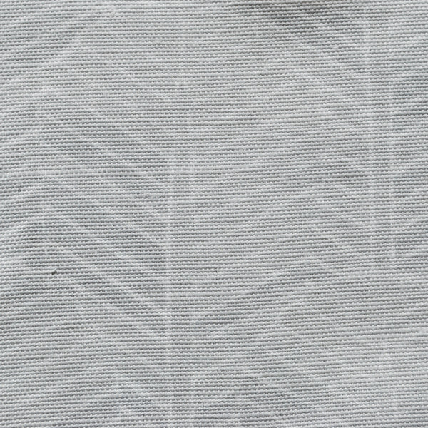 Close up of Edfu Palm Ice Grey fabric