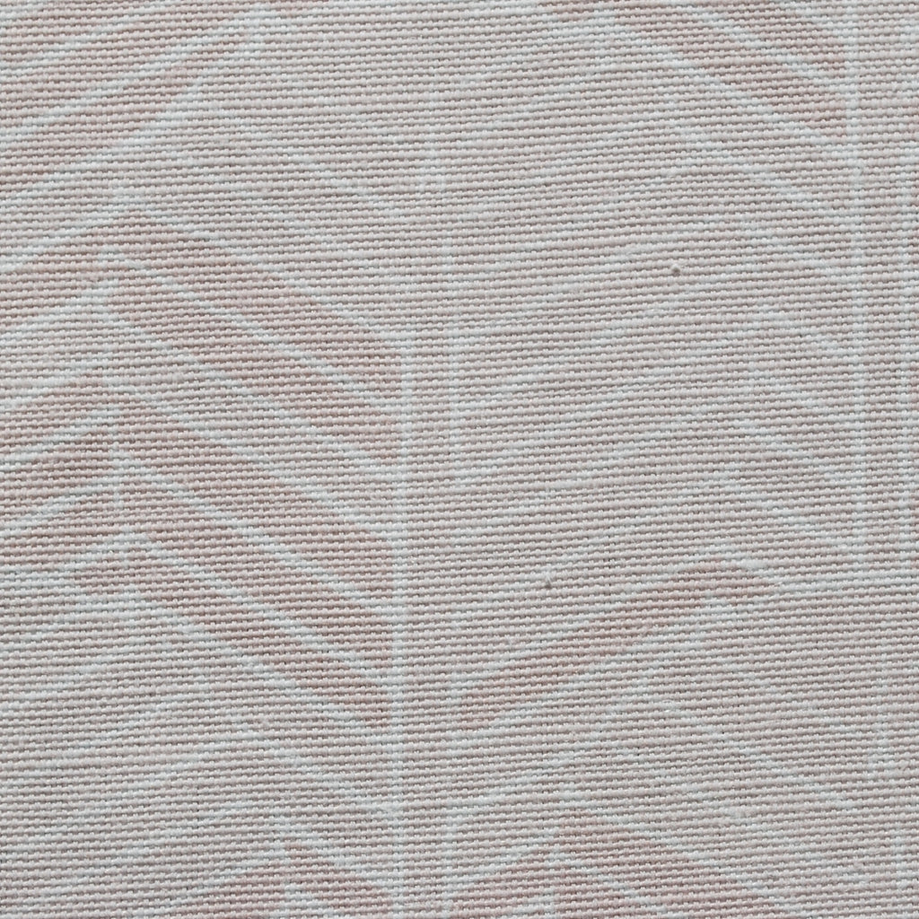 Close up of Edfu Palm Dusty Pink fabric