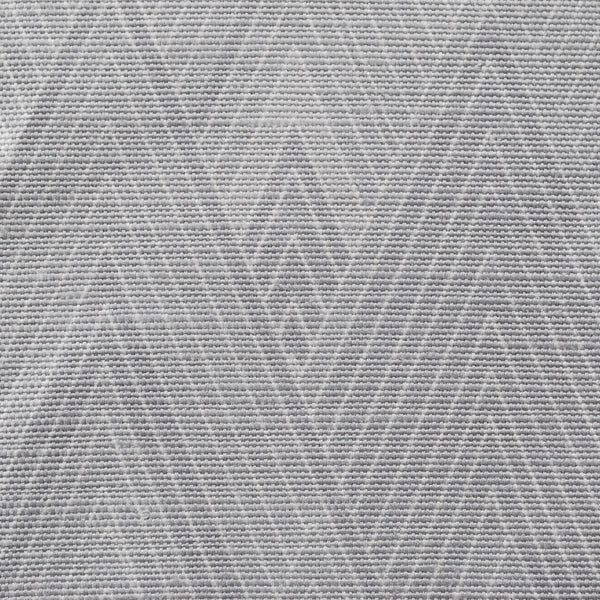 Close up of Edfu Pyramids Shades of Grey fabric