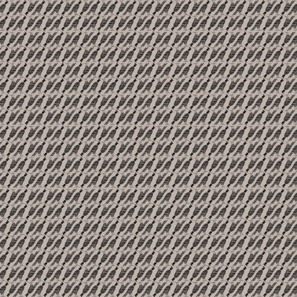 Fabric: Edfu: Falcon Graphite On Taupe