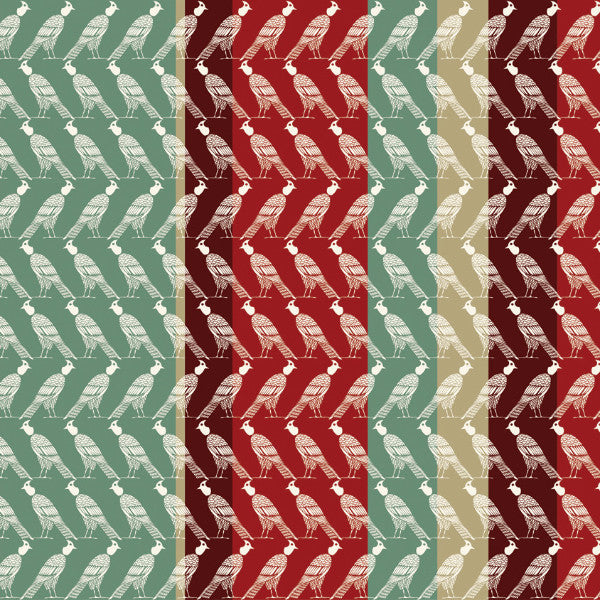 Fabric: Edfu: Falcon Stripes Amber