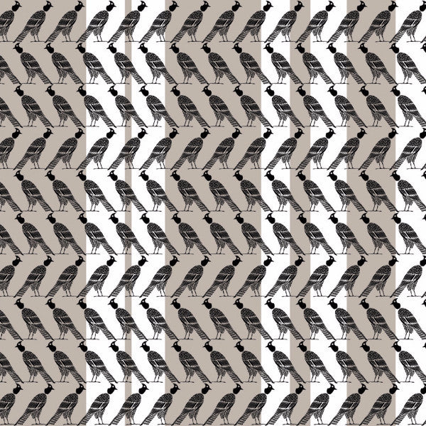 Fabric: Edfu: Falcon Stripes Taupe