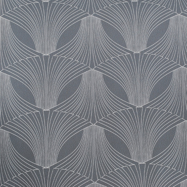Close up of Edfu Flower Coal wallpaper