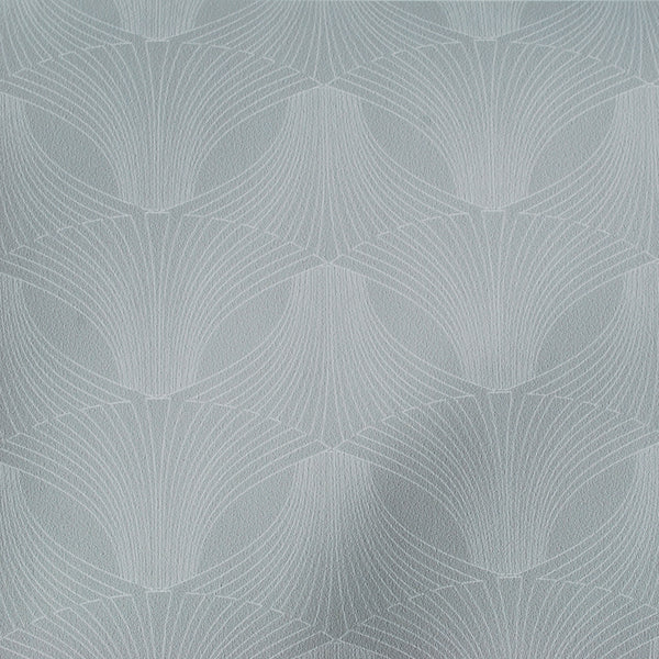 Close up of Edfu Flower Grey Mist wallpaper