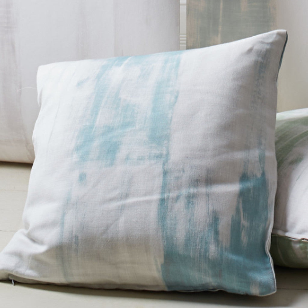 Fields Teal cushion