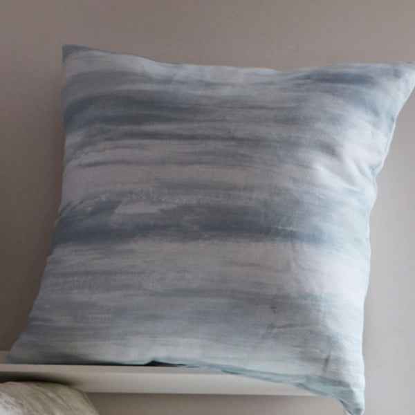River Blue cushion